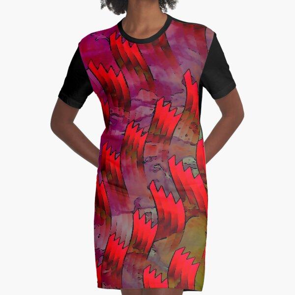 First Flush Darjeeling Graphic T-Shirt Dress