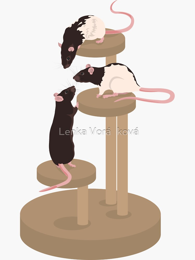 Climbing Ratties by Trin4ever