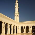 Grand Mosque, Oman by Amanda White
