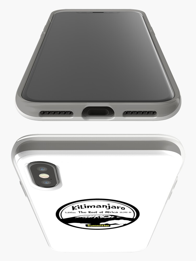 Alternate view of Kilimanjaro Summitter - The Roof of Africa iPhone Case & Cover