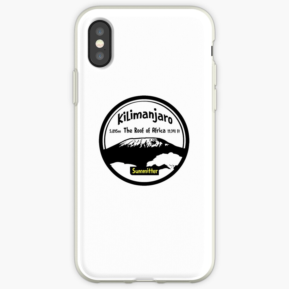Kilimanjaro Summitter - The Roof of Africa iPhone Case & Cover