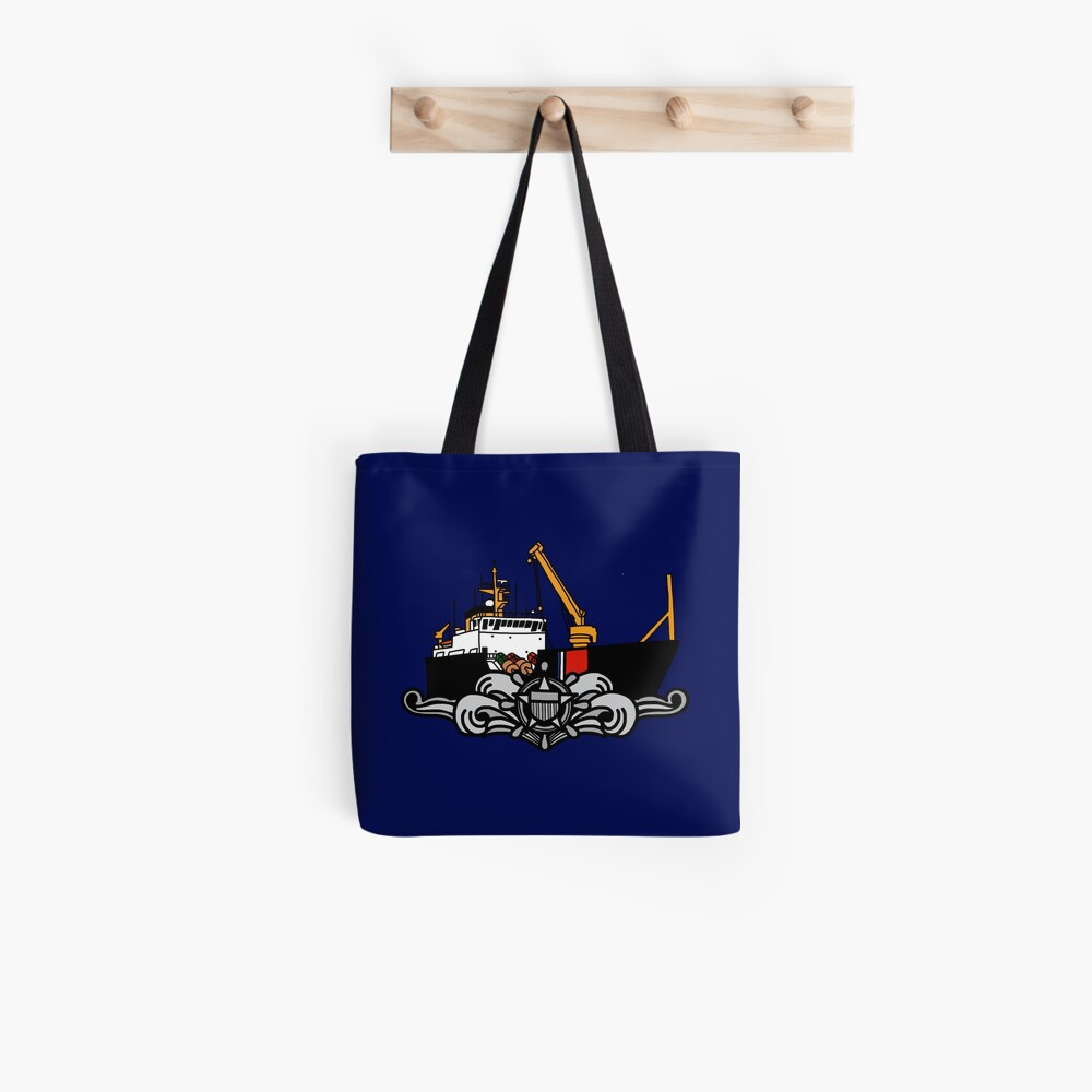 Couast Guard Buoytender Cutterman  Tote Bag