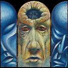Head-Hole Triptych by Peter Fitzpatrick