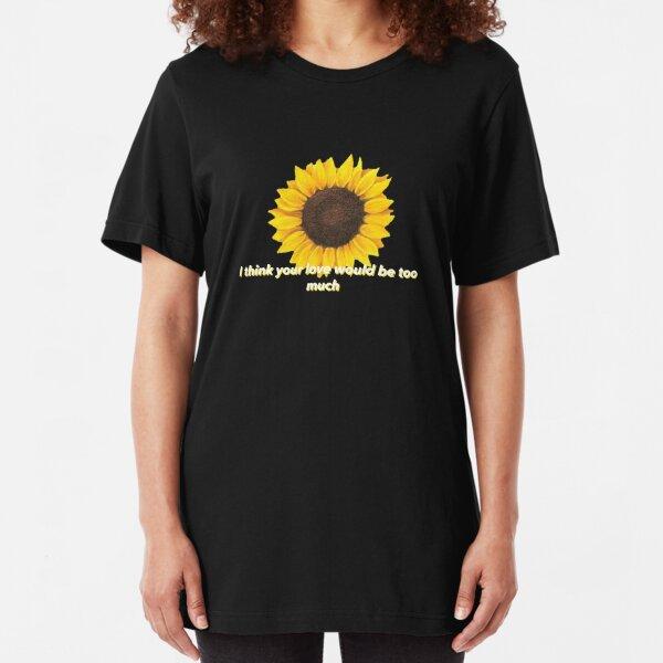Post Malone - Sunflower Slim Fit T-Shirt