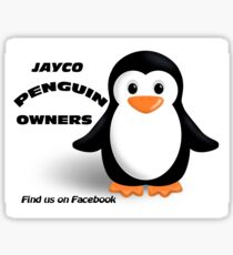 Jayco Penguin Owners Sticker