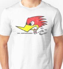 Mr. Horsepower Clay Smith Cams Zigarre rauchen Specht (verzweifelt) Slim Fit T-Shirt