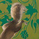 Squirrel Behaving Badly by Kaetlyn Wilcox