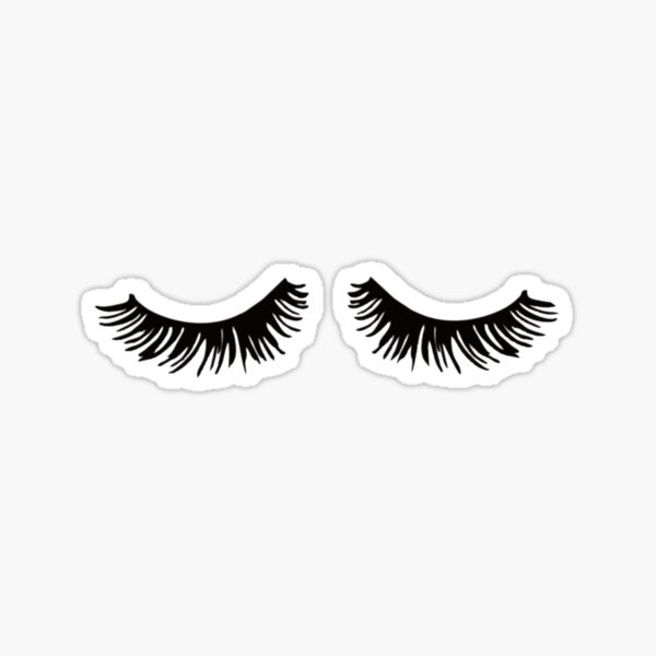 Long Lashes Sticker