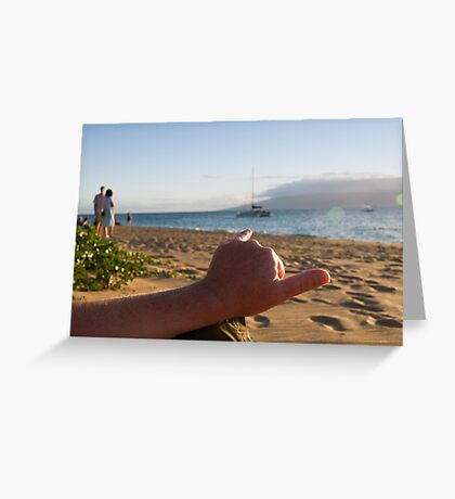 Aloha Spirit Greeting Card