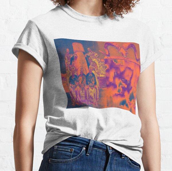 Pixel Skull Surreal Horror Classic T-Shirt