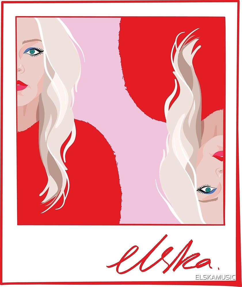 ELSKA - Polaroid Graphic Print  by ELSKAMUSIC