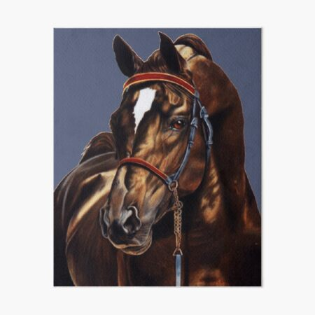 Stallion Art Board Print