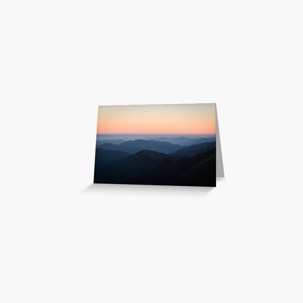 Morning Sky at Mount Hotham Greeting Card