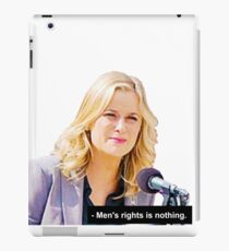 """""""Men's Rights is Nothing."""" iPad Case/Skin"""