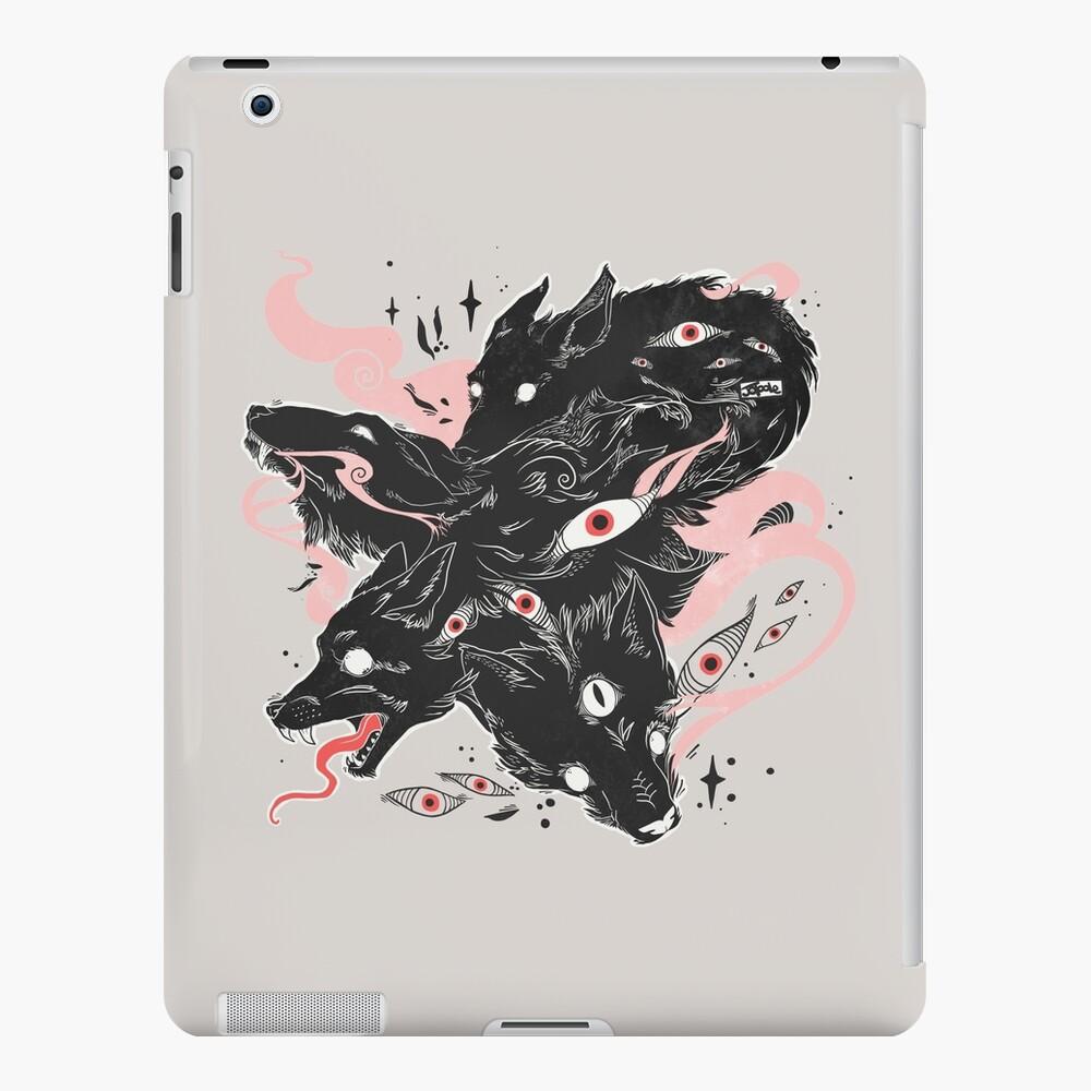 Wild Wolves With Many Eyes iPad Case & Skin