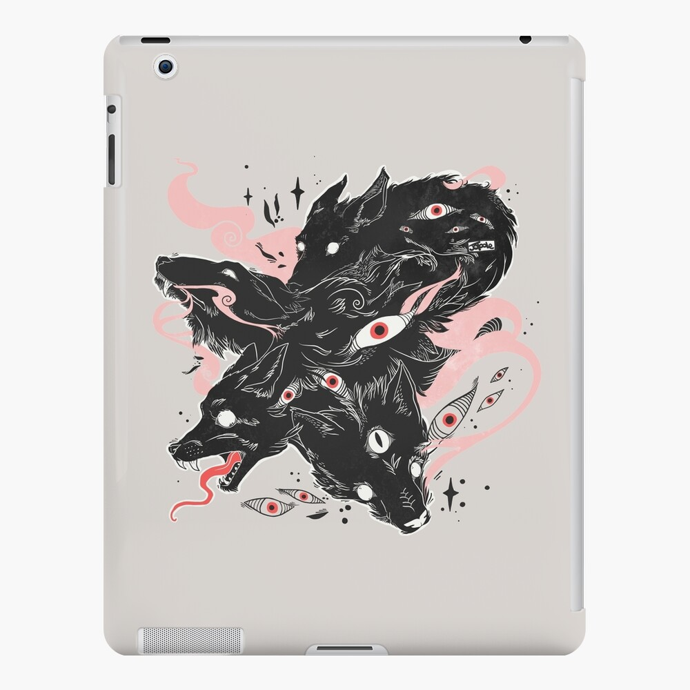 Wild Wolves With Many Eyes iPad Case & Skin
