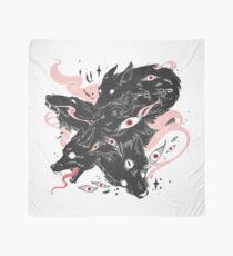 Wild Wolves With Many Eyes Scarf