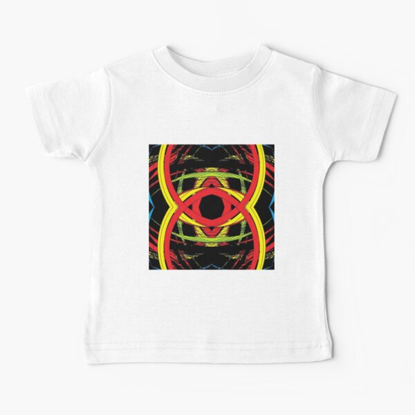 design, illustration, art, decoration, abstract, pattern, element, shape, gold colored, textured, colors, circle, styles, shiny, square Baby T-Shirt