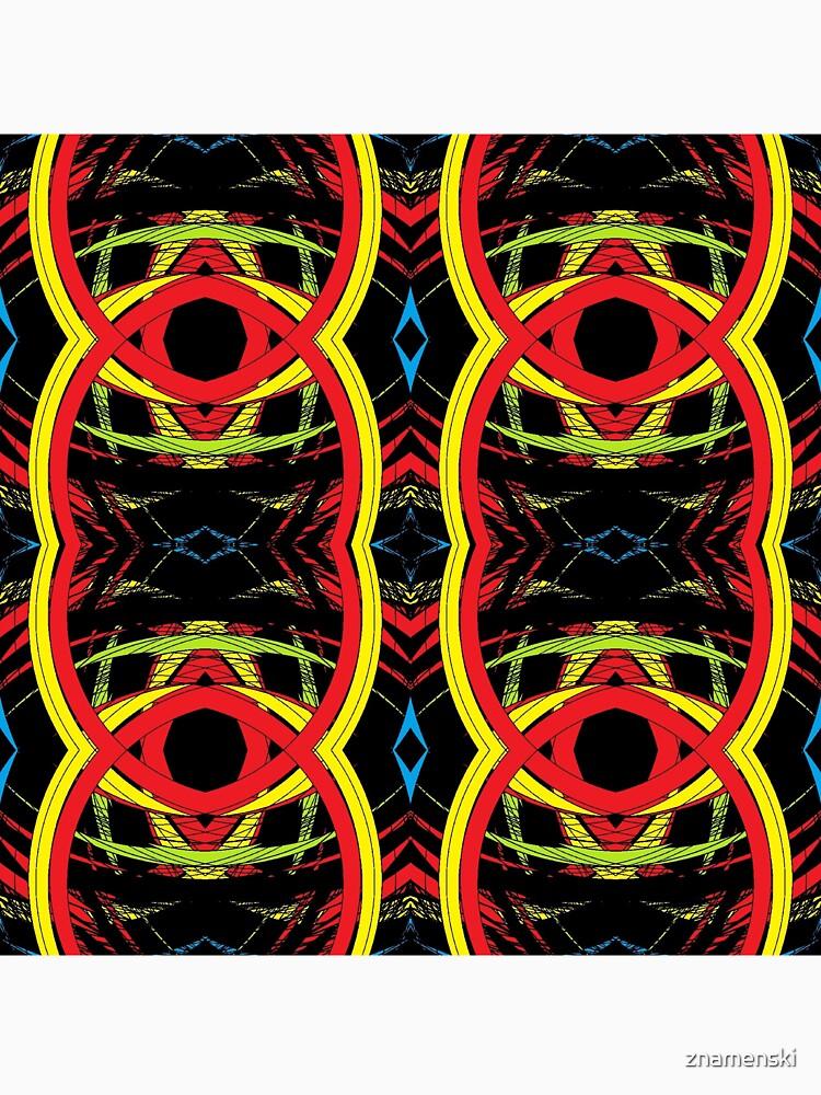 pattern, design, abstract, decoration, vector, art, illustration, shape, ornate, textured, geometric shape, retro style, circle, seamless pattern, styles, square by znamenski