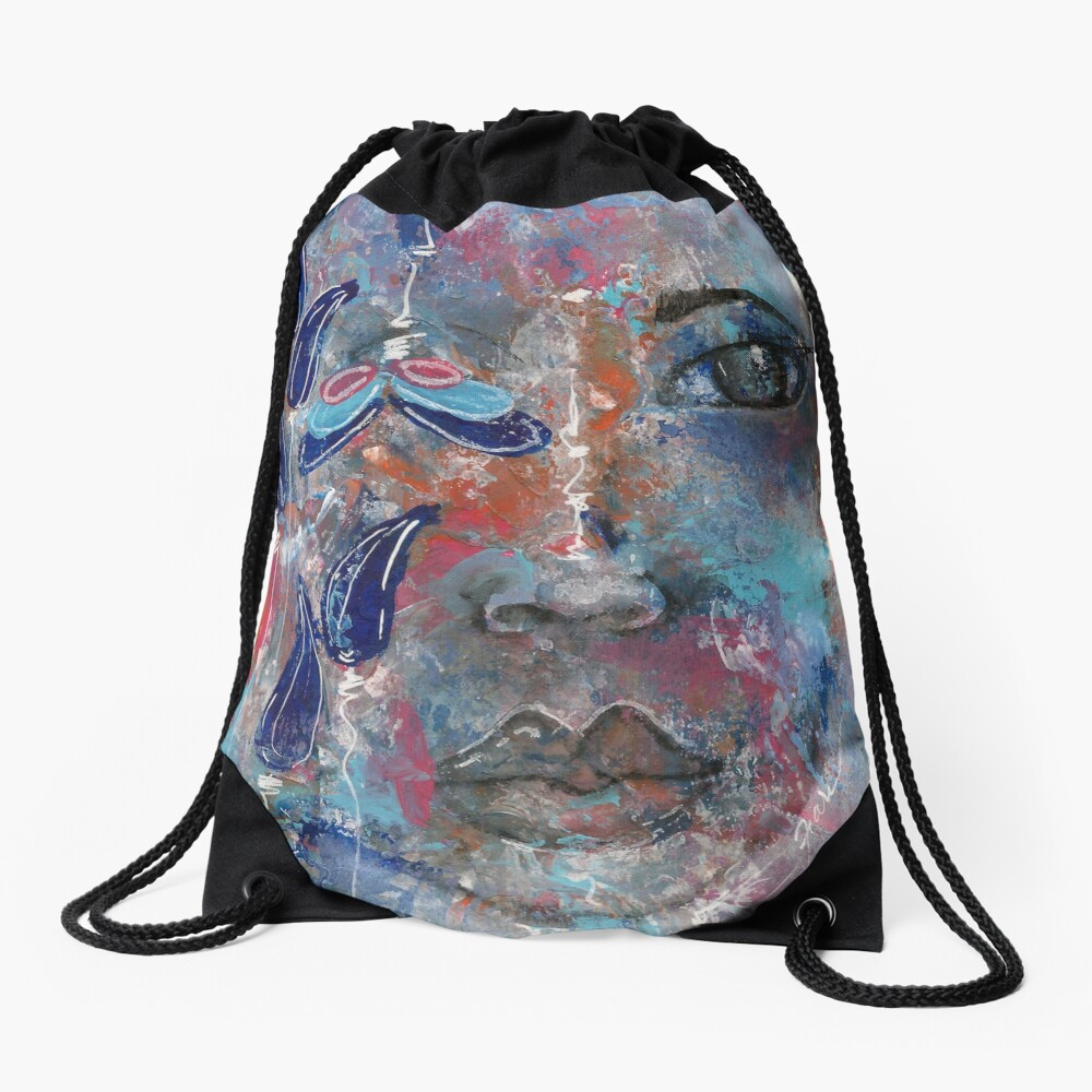 Come Thru 2 Drawstring Bag