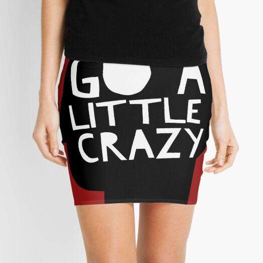 Go a little crazy Print Mini Skirt