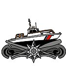 Boat Forces Insignia - 41 UTB by AlwaysReadyCltv