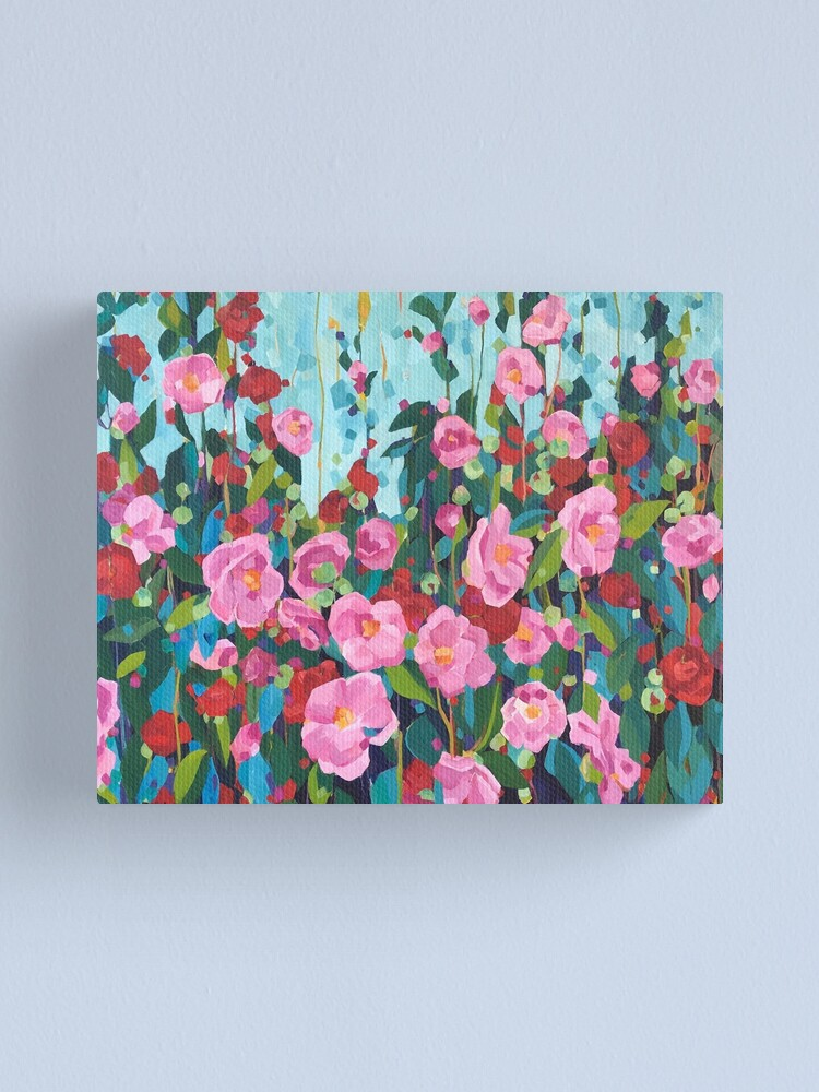 Alternate view of Camellias for Samantha Canvas Print