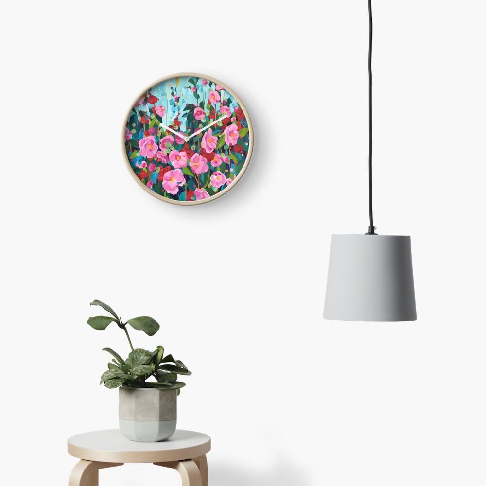 Camellias for Samantha Clock