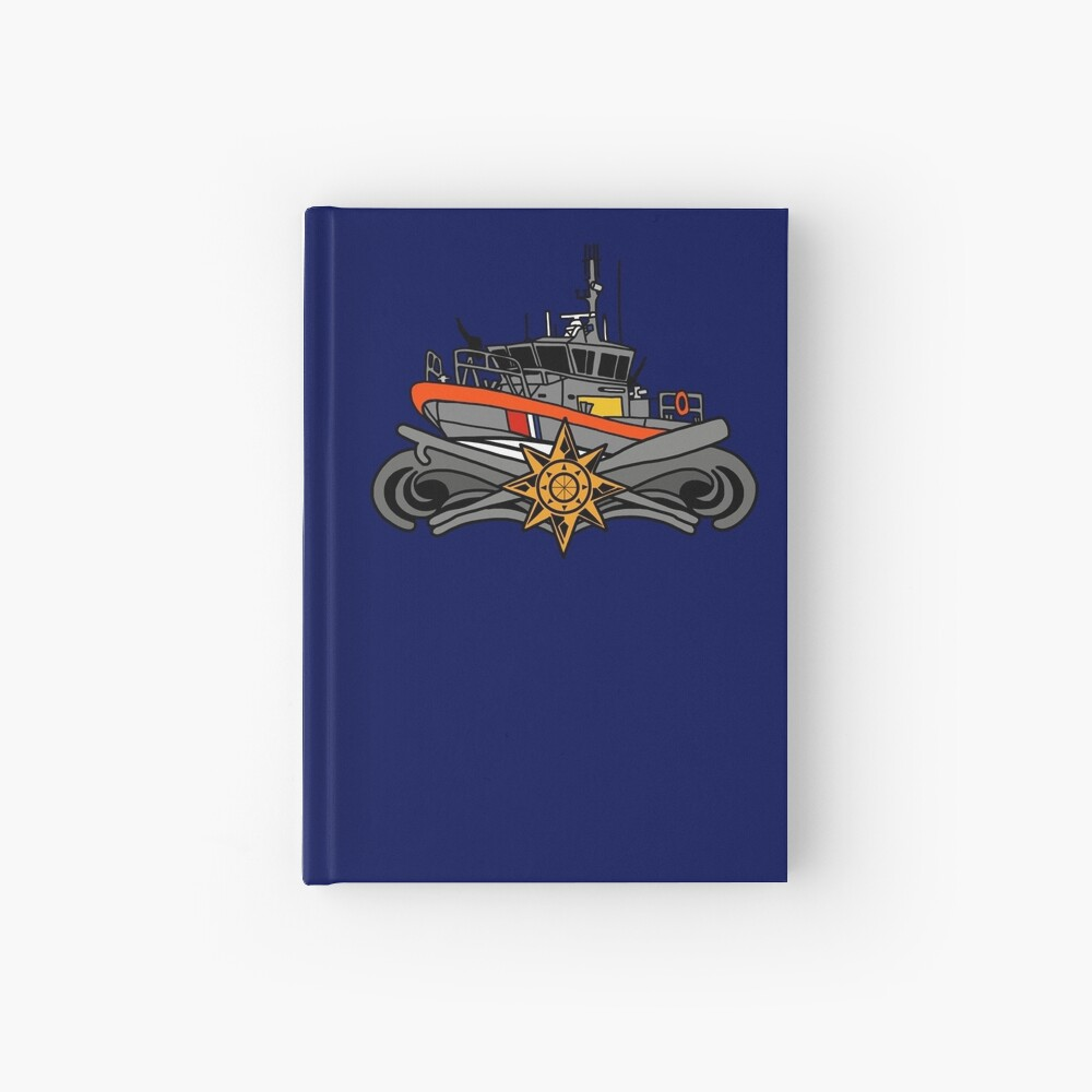 Advanced Boat Forces Insignia - 45 RB-M Hardcover Journal
