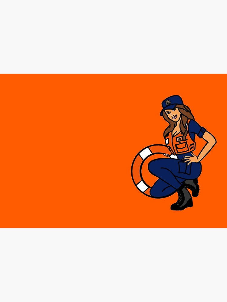 Coast Guard Lifering Pinup by AlwaysReadyCltv