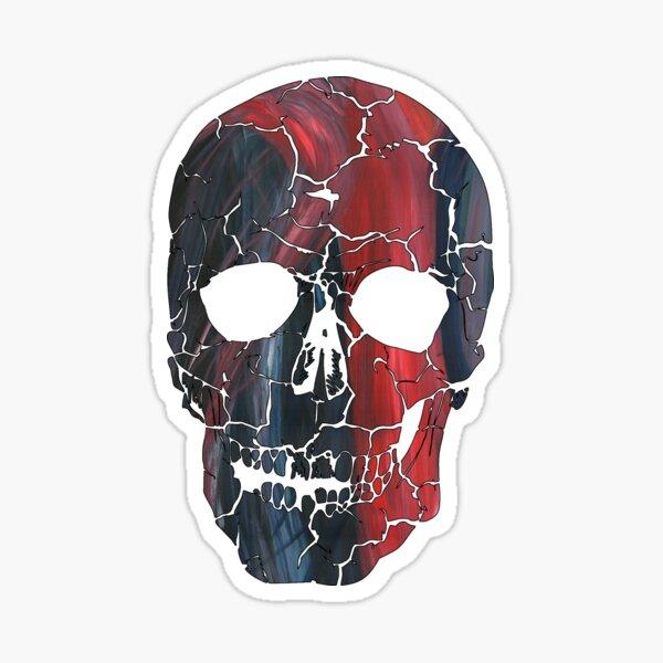 Say it to my Skull Sticker