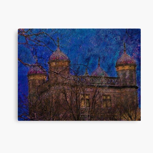 Night Turrets Canvas Print