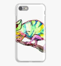 Comma Chameleon iPhone Case/Skin