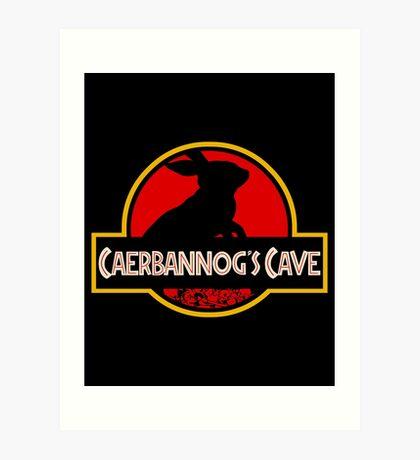 Caerbannog's Cave. Art Print