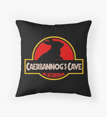 Caerbannog's Cave. Throw Pillow