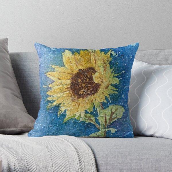 Sunflower Daze 2 Throw Pillow