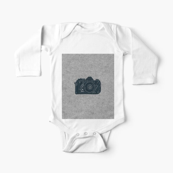 Newborn Kids Long Sleeved Coveralls Moose and Moon Abstract Baby Rompers