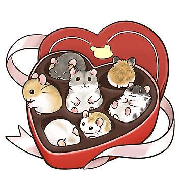 Valentine Hamsters de pawlove