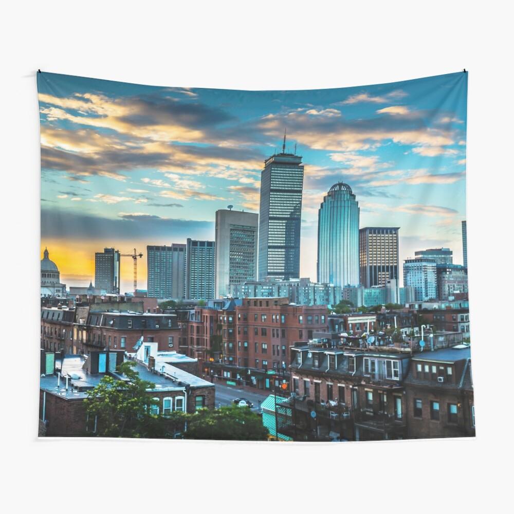 Boston, Massachusetts Wandbehang