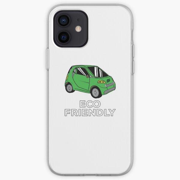 Eco Friendly Car Funda blanda para iPhone