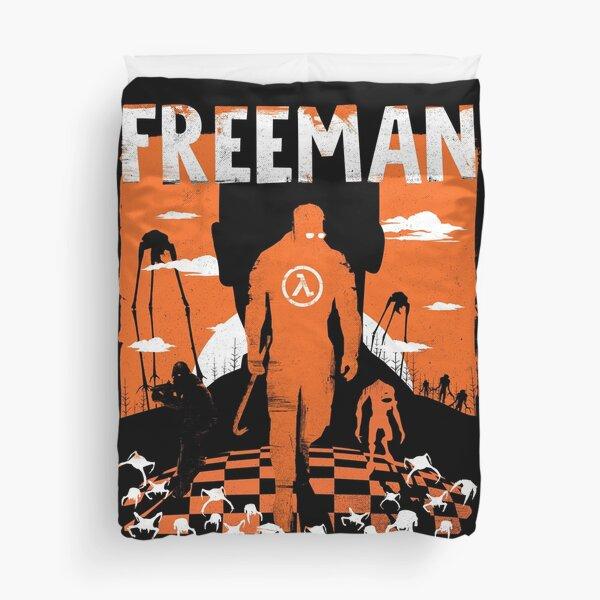The Freeman - Half life shirt, halflife Duvet Cover