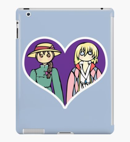 Sophie and Howl - shipping dolls iPad Case/Skin