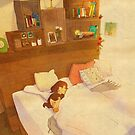 I don't want to go out of the bed. by puuung1