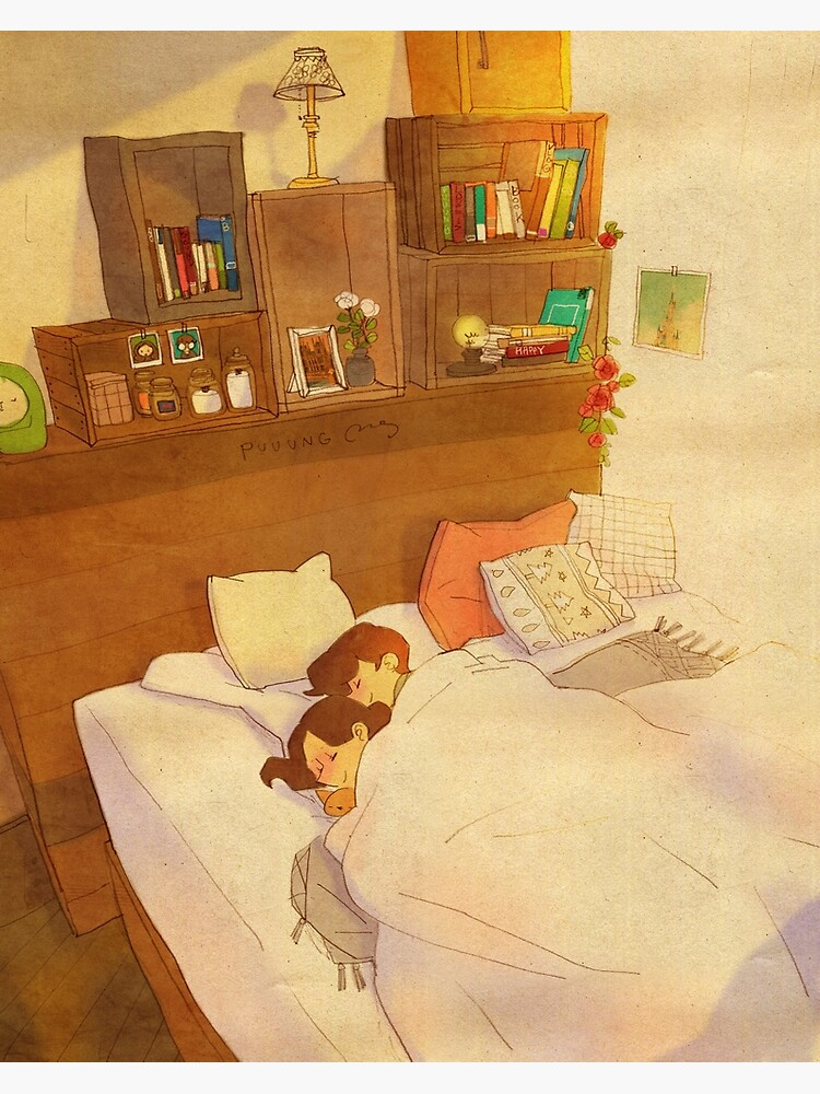 I don't want to go out of bed. by puuung1