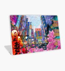 Tokyo - Hong Kong  Digital art painted by Iona Art Digital Laptop Skin