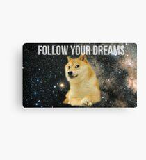 Doge Shibe Meme  Canvas Print