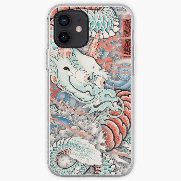 BABY DRAGON UKIYO-E Style iPhone Soft Case