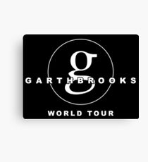 e90977953eb garth brooks Canvas Print
