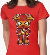 Minotaur Mascot Women's Fitted T-Shirt