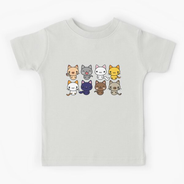 Cute Kitty Cats Kids T-Shirt